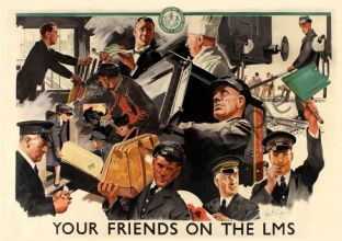 Your Friends on the London Midland Railway
